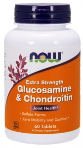 Glucosamine & Chondroitin 750mg/600mg 60 tabl |NOW Foods|