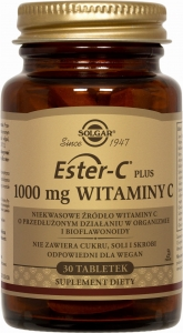 Ester-C Plus 1000mg 30tabl |Solgar|