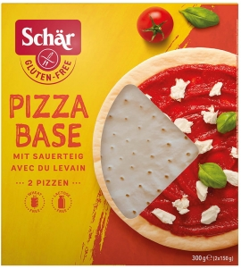 Bezglutenowe spody do pizzy PIZZA BASE 300g |Schar|