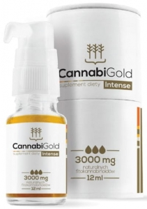 CannabiGold Intense 3000 mg 12 ml |HemPoland|