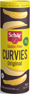 Bezglutenowe Chipsy Curvies Original 170g |Schar|